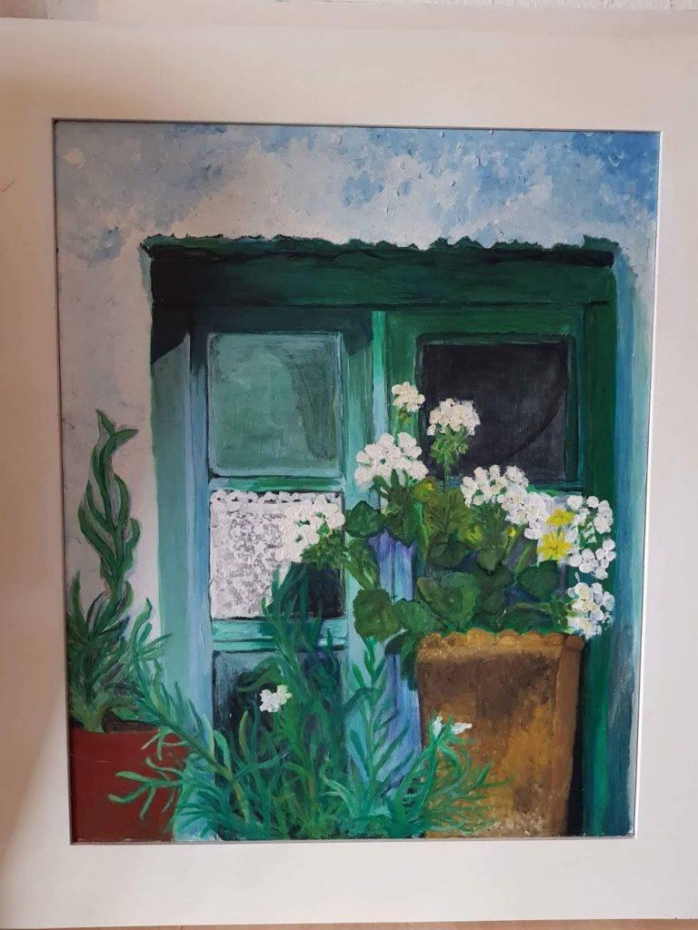 Acryl auf Leinwand von Gisela Kentmann