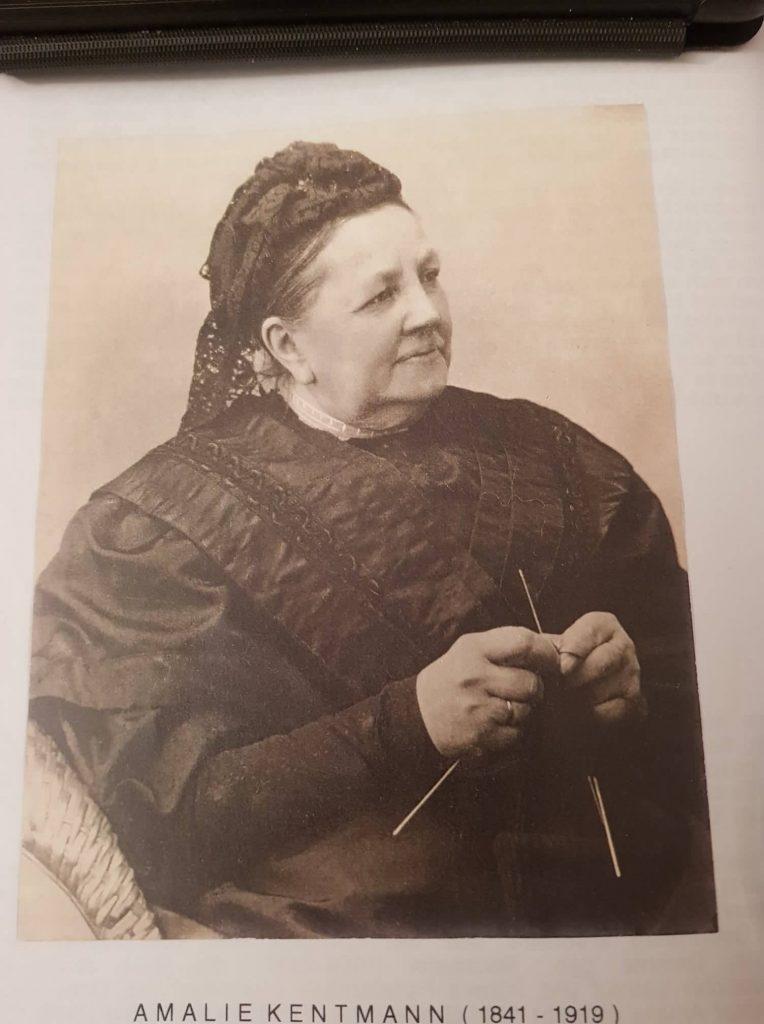 Amalia Kentmann Ehefrau von Woldemar Friedrich Kentmann ☆1841+1919