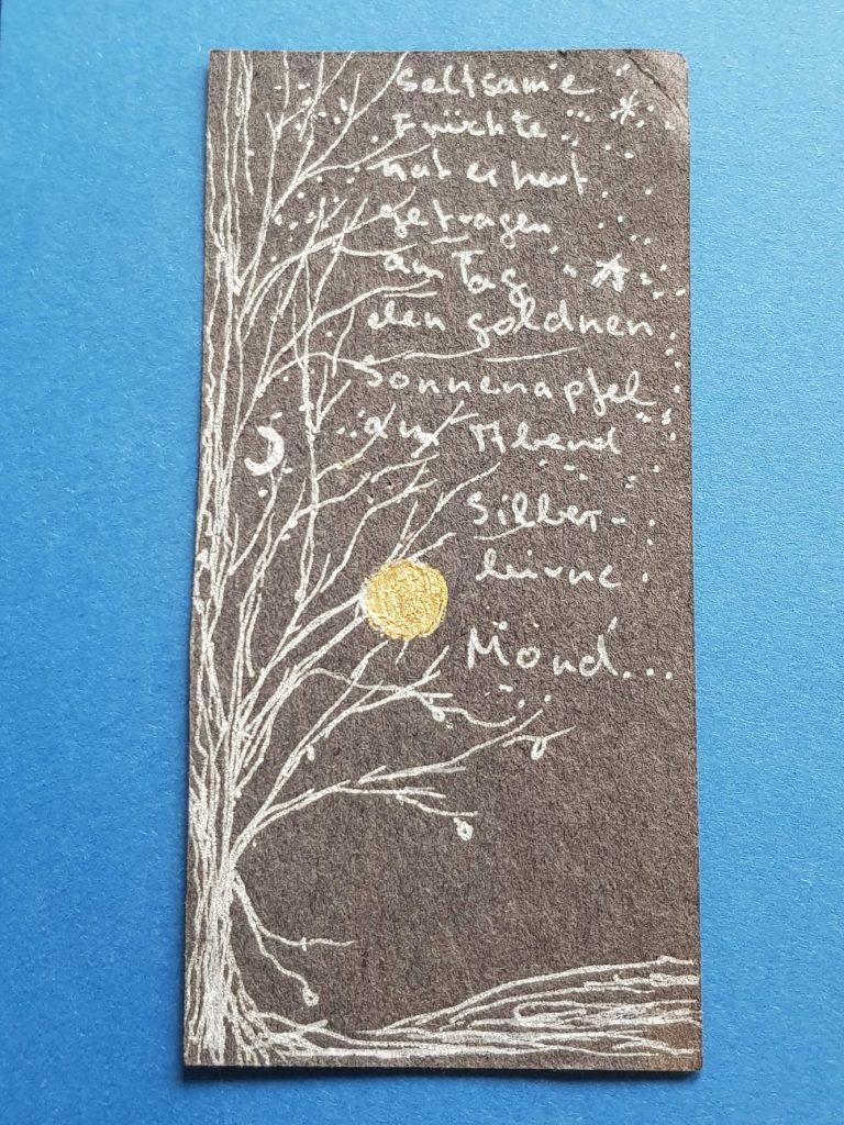 Aquarelle Titel Der Baum von Gisela Kentmann