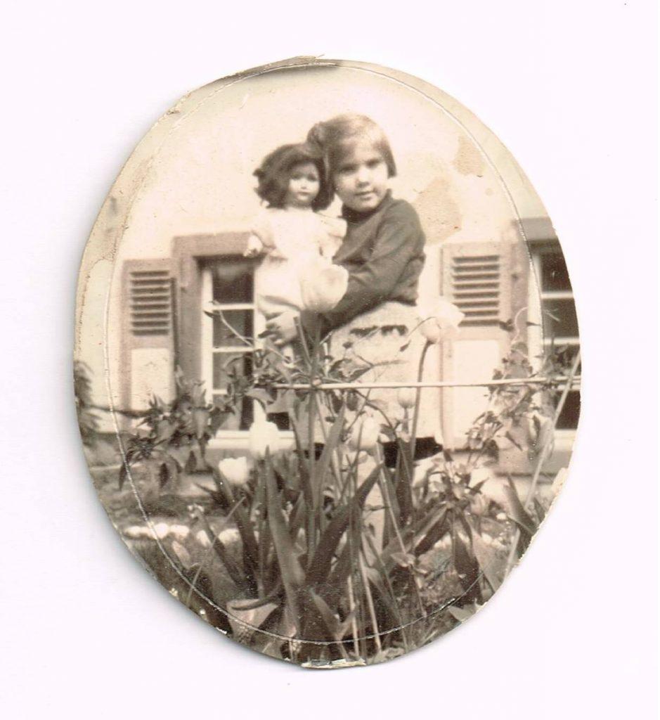Gisela Kentmann als Kind