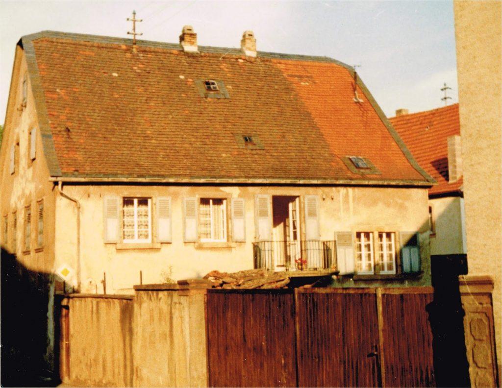 Pfarrhaus Rehborn Rückseite