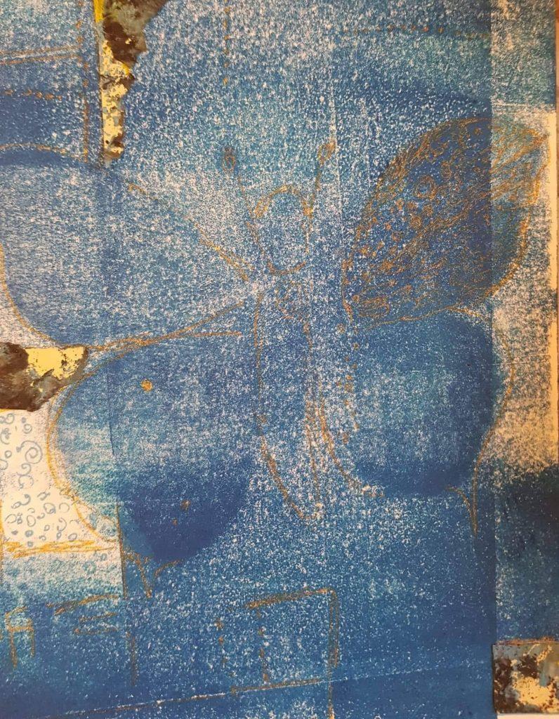 Monotypie:Federzeichnung (2), Gisela Kentmann