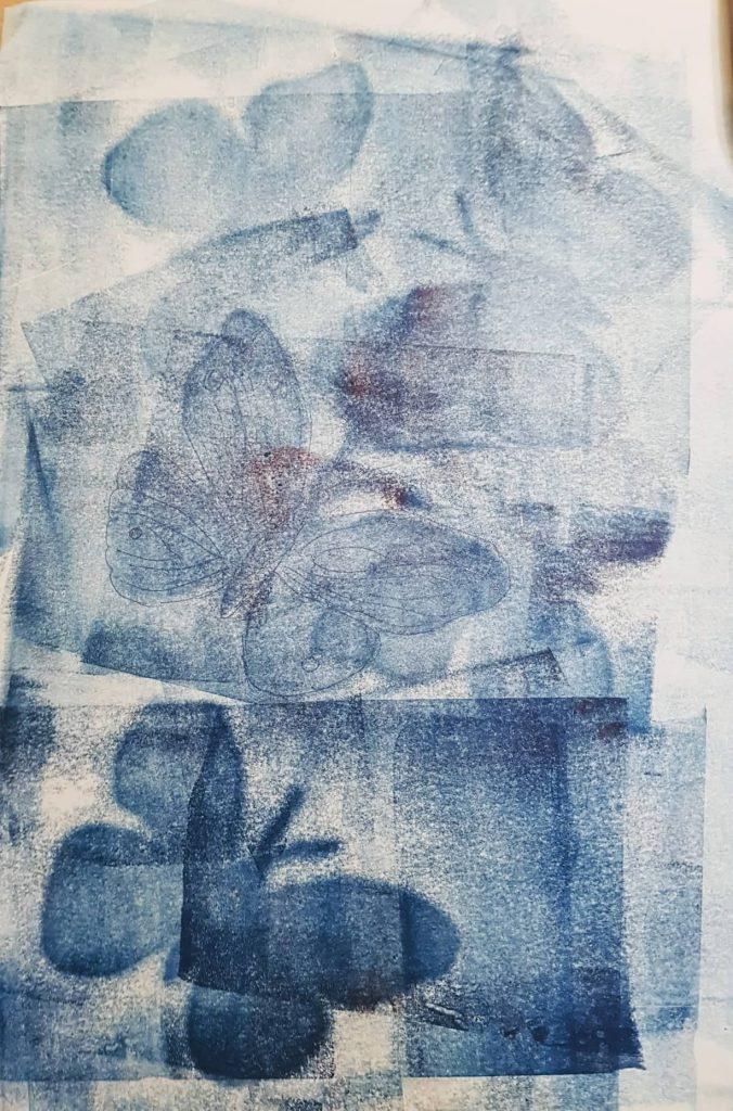 Monotypie:Federzeichnung (8), Gisela Kentmann
