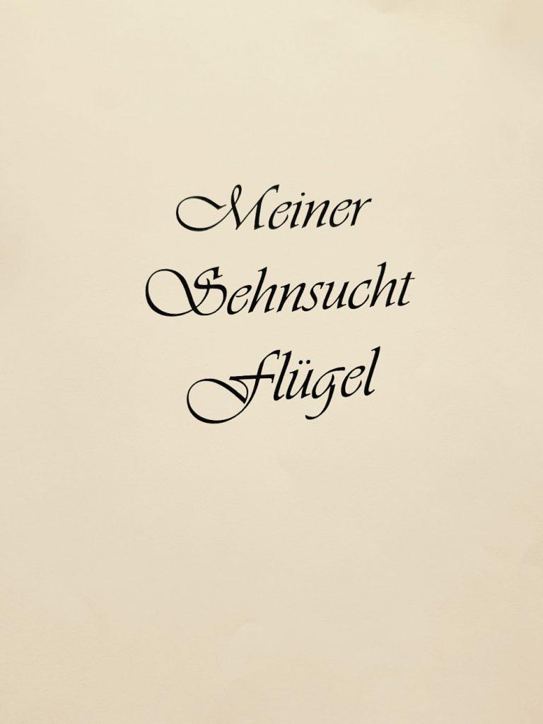 Meiner Sehnsucht Flügel - Gedichte von Gisela Kentmann